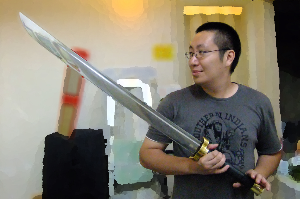 Realistic Sparring Weapons - About The Crews - Lancelot Chan